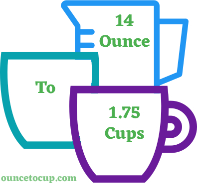 14 Oz to Cups - ouncetocup.com